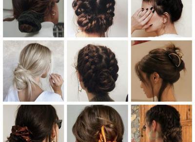 Włosowe inspiracje: Upięcia na czas kwarantanny