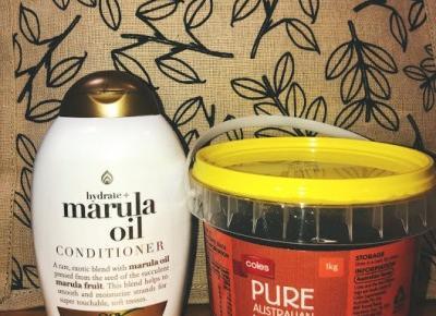 Hair Hour #13 OGX z olejem marula  i miód