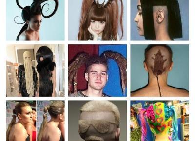 10 Najśmieszniejszych fryzur