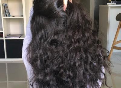 Hair Hour #20 płukanka miodowa przed myciem włosów.