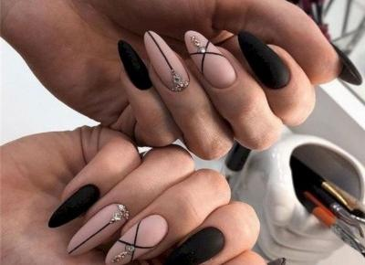 Inspiracje na jasne paznokcie