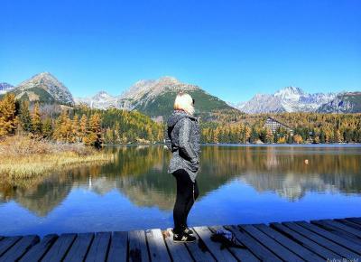Judy's World: Strbske Pleso – Vysoke Tatry - Piękno gór odbijające się w tafli wody