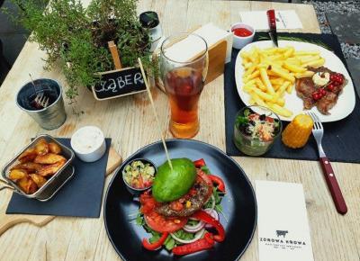 Judy's World: Zdrowa Krowa - najsmaczniejsze burgery w mieście