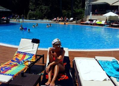 Judy's World: Bułgaria – Złote Piaski, typowy chillout...