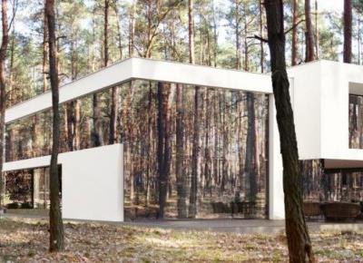 Projekt lustrzanego domu pod Warszawą będzie zrealizowany!