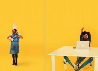 IKEA pokazuje, jak robić z niebieskiej torby przydatne domowe akcesoria