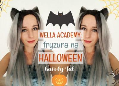 Fryzura na Halloween - kocie uszy - Hair by Jul- fryzury krok po kroku