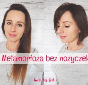 Metamorfoza bez nożyczek, czyli spinka do boba! - Hair by Jul- fryzury krok po kroku