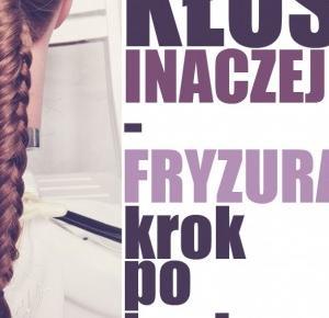 HAIR BY JUL- blog o włosach. Fryzury, tutoriale, inspiracje: Kłos inaczej czyli coś dla zaawansowanych