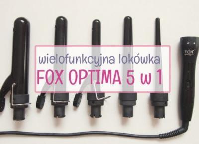 Lokówka Fox Optima 5w1 - moja opinia - Hair by Jul- fryzury krok po kroku