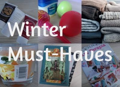 My life is Wonderful: Winter Must-Haves