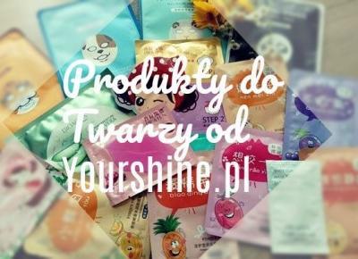My life is Wonderful: Produkty do Twarzy Yourshine.pl