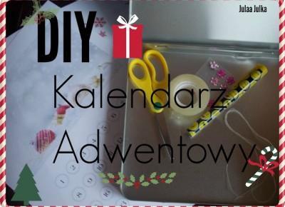 My life is Wonderful: ✼  DIY - kalendarz Adwentowy ✼