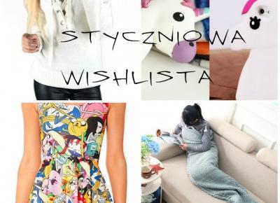 My life is Wonderful: Styczniowa Wishlista