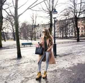 Kenzas i jej obłędna stylizacja na chłodniejsze dni.