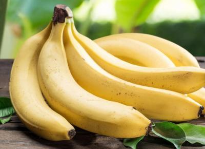 Właściwości bananów!