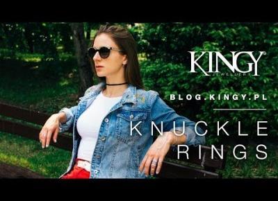 Srebrne pierścionki knuckle ring - half finger // Kolekcja LATO 2017 [ Sklep z biżuterią KINGY.PL ]