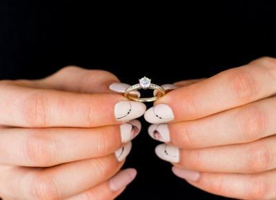 Czy dziewczyna może wybrać pierścionek zaręczynowy?