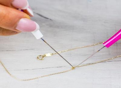 Jak rozplątać łańcuszek | Blog o biżuterii by KINGY