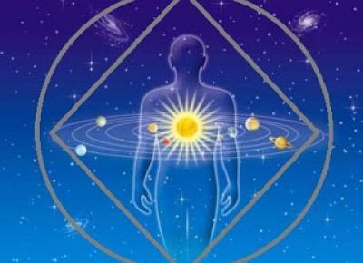 Budzenie umysłu - dzień po dniu: Kosmos we mnie - ja w kosmosie
