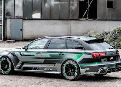 Audi RS6-e ABT: 1018 koni z ekologicznym nitro