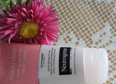 Neutrogena Visibly Clear Cream Wash | Recenzja żelu