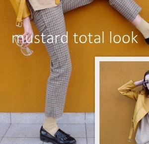 Karolina Grzesiak: Mustard TOTAL LOOK