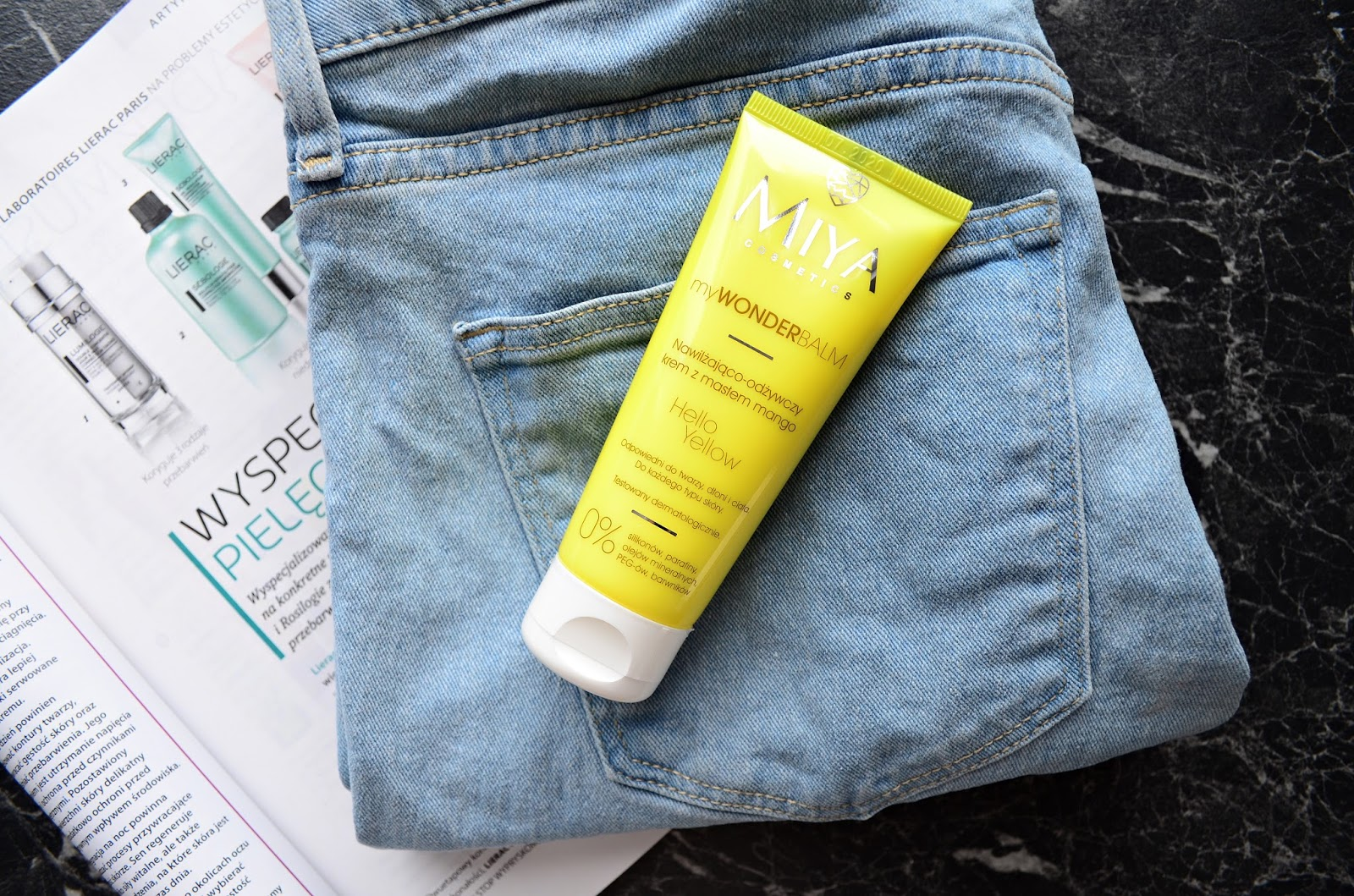 Review: Miya Cosmetics myWonderBalm Hello Yellow moisturizing cream with mango butter