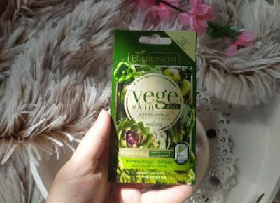 W pogoni za ideałem.: Bielenda, maseczka Vege skin z zielonych warzyw
