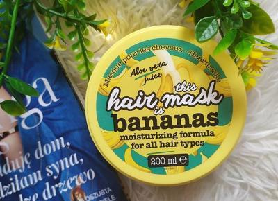 Maska bananowa 🍌🍌🍌