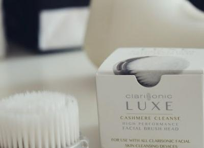 Karutek blog: Clarisonic LUXE Cashmere cleanse brush head