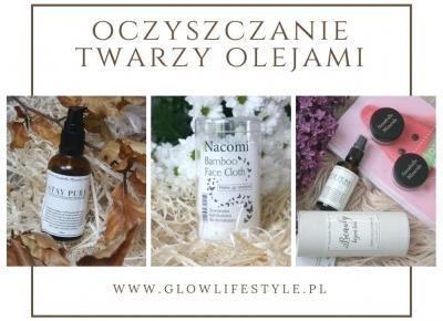 Oczyszczanie twarzy olejami z Annabelle Minerals STAY PURE i bambusową ściereczką Nacomi - Uroda, kosmetyki, makijaż w glowlifestyle.pl