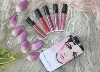 Matowa pomadka w płynie Gosh Liquid Matte Lips i nawet mizerne usta wyglądają dobrze :) - Uroda, kosmetyki, makijaż w glowlifestyle.pl