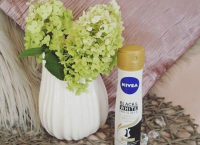 Nivea Black & white Invisible Silky Smooth antyperspirant, który mnie zaskoczył :) - Uroda, kosmetyki, makijaż w glowlifestyle.pl