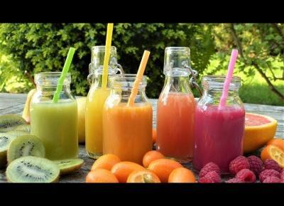 Zdrowe zamienniki gazowanych i kolorowych napojów