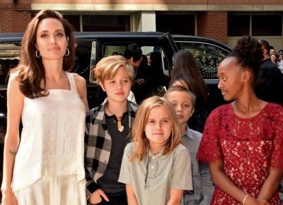 Córka Angeliny Jolie i Brada Pitta zmienia płeć