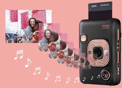 Nowy instax pozwala na dodanie dźwięku do zdjęcia