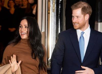 Meghan Markle i książę Harry wycofują się z dotychczasowych ról i opuszczają Wielką Brytanię
