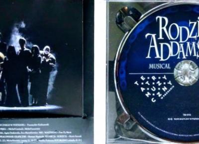 Płyta: Rodzina Addamsów Musical (PL)