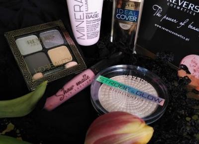 Kosmetyczny Świat Strzałeczki- receznje i testy kosmetyków: Revers Cosmetics