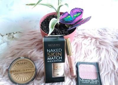 Kosmetyczny Świat Strzałeczki- receznje i testy kosmetyków: Revers Cosmetics - kolejne kosmetyki w moich rękach