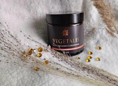 Kosmetyczny Świat Strzałeczki- receznje i testy kosmetyków: VEGETALIS - krem roślinny z likopenem
