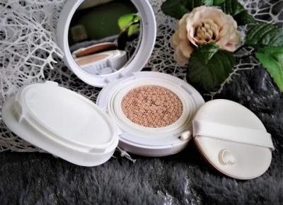 Kosmetyczny Świat Strzałeczki- receznje i testy kosmetyków: SKINGARDEN - Dr. Mola 3rd Generation BB Cushion