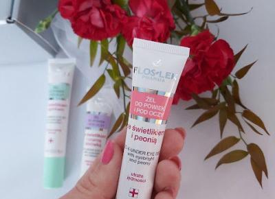 zaStrzałką: Beauty box Floslek - pielęgnacja okolic oka