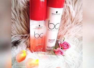 Kosmetyczny Świat Strzałeczki- receznje i testy kosmetyków: Zdrowe i piękne włosy dzięki BC BONACURE