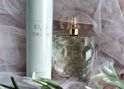 Kosmetyczny Świat Strzałeczki- receznje i testy kosmetyków: Wiosna tuż tuż zapach EvE TRUTH AVON