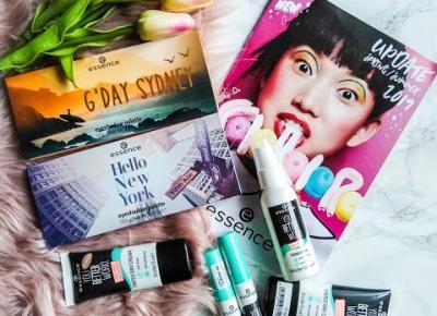 zaStrzałką: Kosmetyki na upały - Essence You Better Work