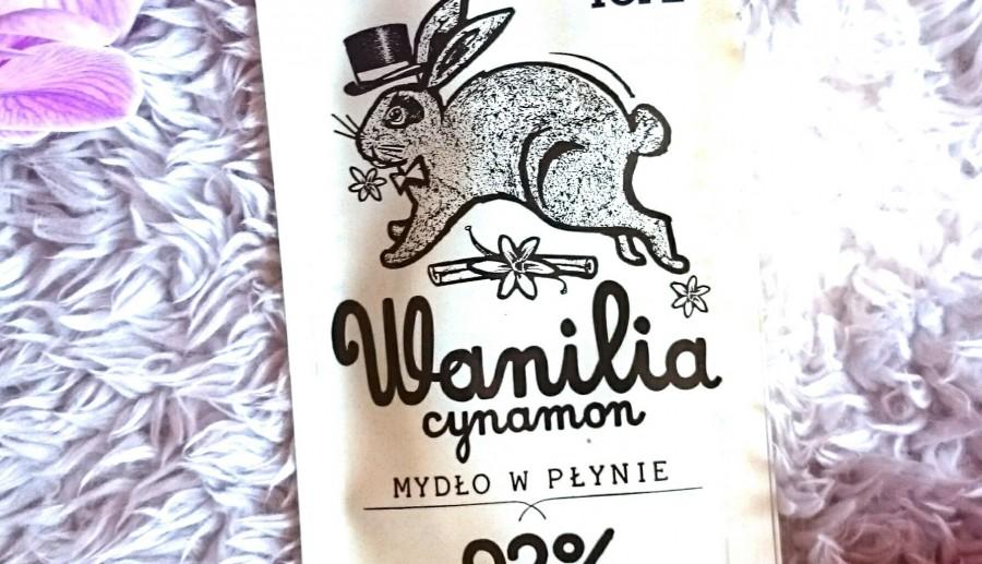 Mydło Yope w płynie o zapachu wanilii i cynamon