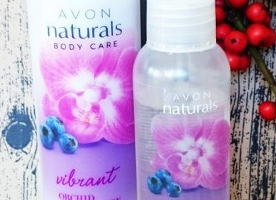 Zestaw kosmetyczny balsam do ciała i mgiełka Avon o zapachu storczyka i jagód