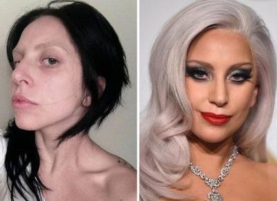 Gwiazdy w makijażu i bez, ale różnica!